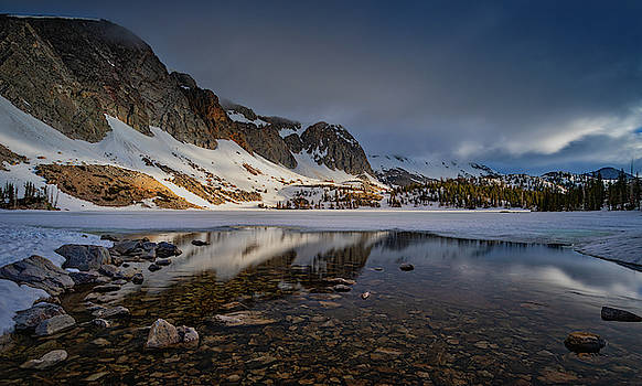 Medicine Bow Lake Marie by Jerry Fornarotto