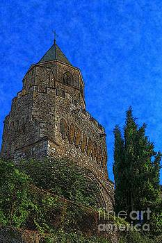 Medieval Bell Tower 5 by Jean Bernard Roussilhe