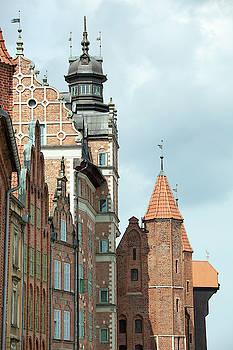 Medieval Towers by Ramunas Bruzas