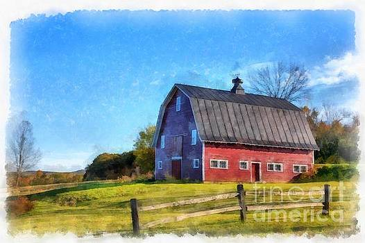 Meet me by the old red barn by Edward Fielding