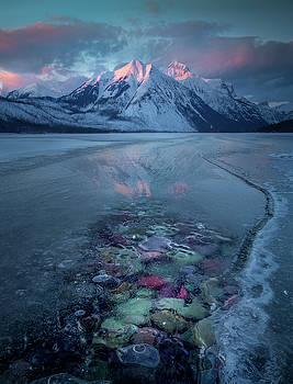 Melt, Freeze, Repeat / Late Winter / Lake McDonald, Glacier National Park  by Nicholas Parker