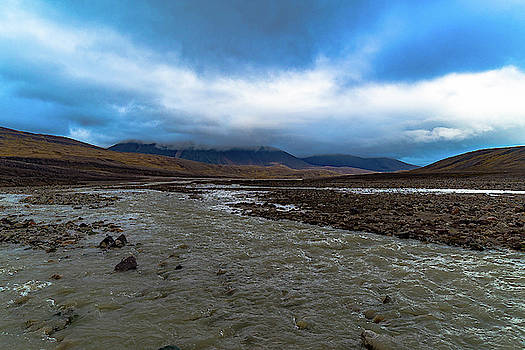 Meltwater Valley on Svalbard by Kai Mueller