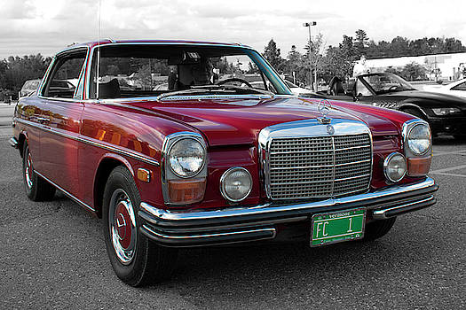 Mercedes, Cars and Coffee by Rik Carlson