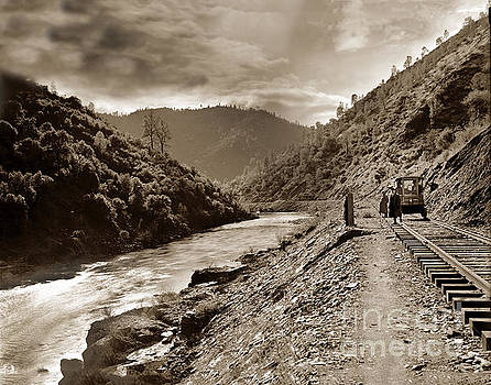 California Views Archives Mr Pat Hathaway Archives - Merced River and the Yosemite Valley Railroad   Circa 1910