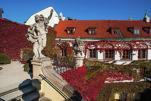 Jenny Rainbow - Mercury Statue. Vrtba Garden 1