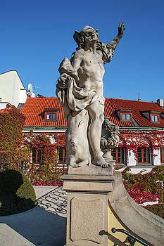 Jenny Rainbow - Mercury Statue. Vrtba Garden