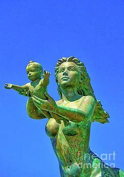 Mermaid and Child by Ian Gledhill