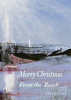 Sharon Williams Eng - Merry Christmas From the Beach Sunshine Sail 300