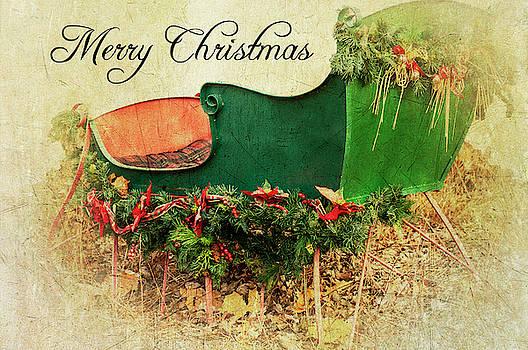 Mery Christmas Sleigh by Annette Persinger