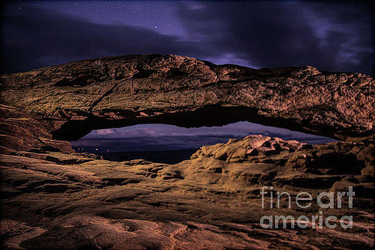Mesa Arch  by Randy Kostichka