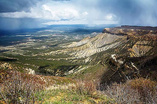 Mesa Verde National Park Colorado by Joan Carroll