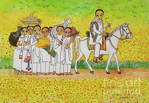 Meskel Celebration 1 by Yoseph Abate