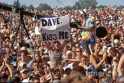 Message for Dave at Woodstock 99 by Concert Photos