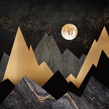 Metallic Night by Spacefrog Designs