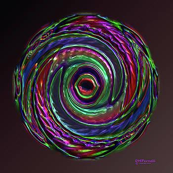 Metallic Swirl by Diane Parnell