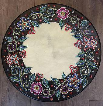 Metis Healing Drum by Sherry Leigh Williams