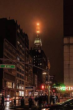 Sharon Popek - Metlife Tower After Dark