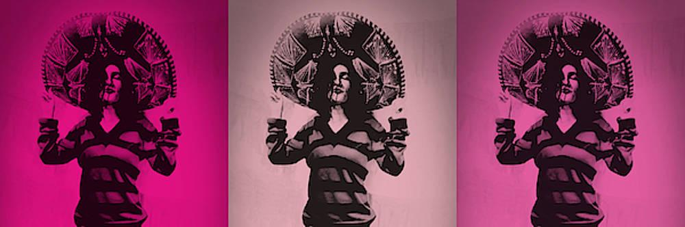 Art Ramon Paintings - Mexican Charra - Pinky