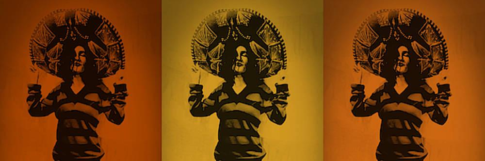 Art Ramon Paintings - Mexican Charra - Southwestern
