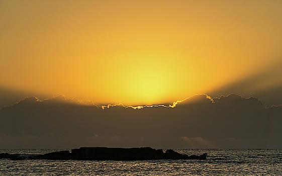 Mexico Ocean Sunrise by Dave Matchett