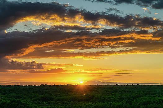 Mexico Sunset Full by Dave Matchett