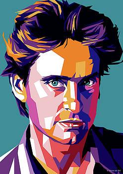 Michael Douglas by Stars-on- Art