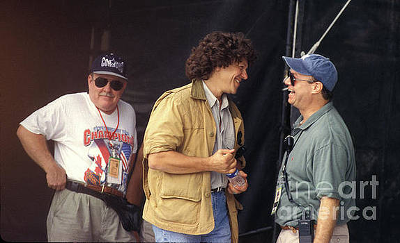 Michael Lang and John Scher at Woodstock 99 by Concert Photos
