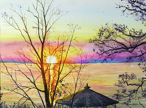 Michigan Sunset by Patricia Allingham Carlson
