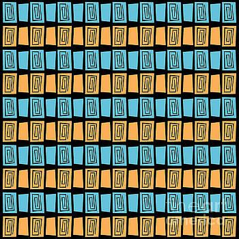 Mid Century Modern Maze by Donna Mibus