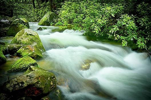 Middle Saluda River Flow by Flying Z Photography by Zayne Diamond