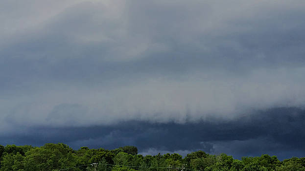 Middle Tennessee Shelf Cloud  by Ally White