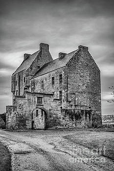 Midhope Castle  by Elizabeth Dow