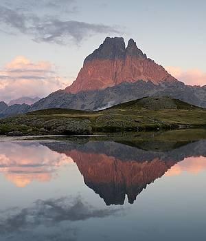 Midi D'Ossau Reflection by Stephen Taylor