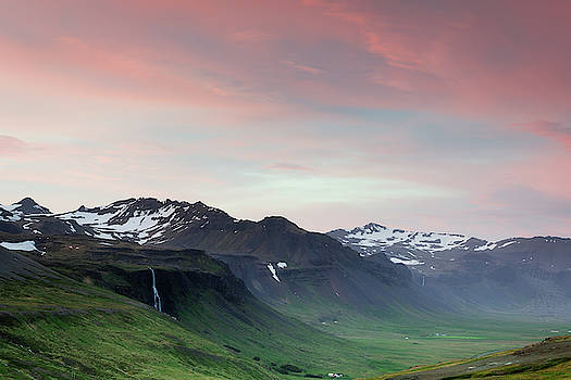 Midnight Sun in Iceland by Nicole Young