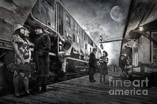 Midnite Run by Brad Allen Fine Art