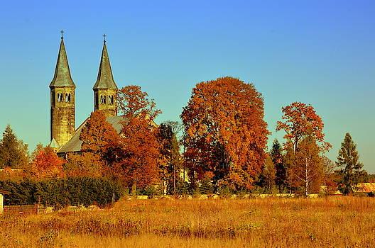 Henryk Gorecki - Miedzierza church
