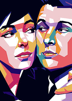 Elaine May and Mike Nichols by
