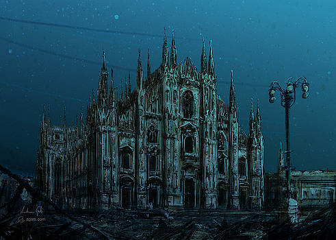 Andrea Gatti - Milan Cathedral sea