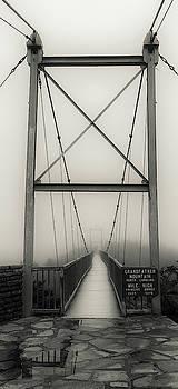 Mile High Swinging Bridge - Grandfather Mountain by Mike Koenig