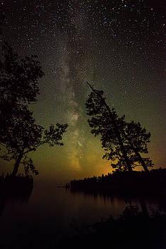 Milky Way at Split Rock  by Jeffrey Klug