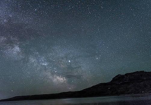 Milky Way Over Buffalo Bill Resovoir by Barbara Hayton