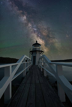 Milky Way over Doubling Point by Jesse MacDonald