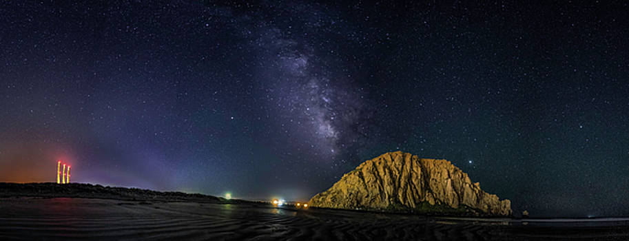 MIKE LONG - Milky Way over Morro Rock