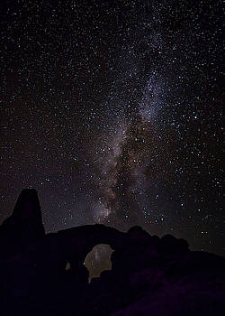Milky Way over the Windows by David Morefield