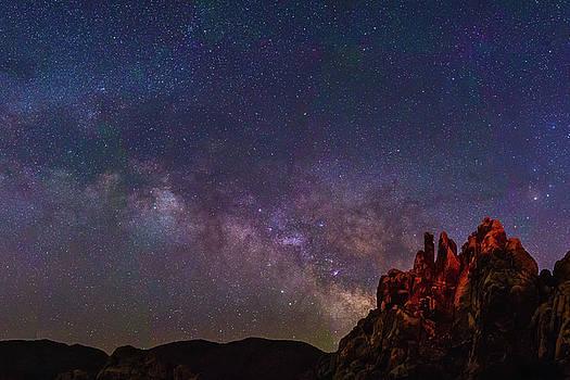 Milky Way Panorama by Matt Deifer