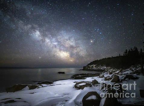 MilkyWay at Otter Cliffs by Scott Thorp
