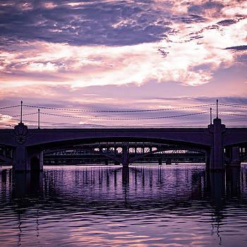 Mill Avenue Bridge by Ken Mickel