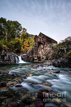 Mill on Crystal River by Joe Sparks