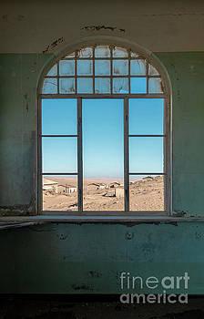 Million Dollar View - Kolmanskop, Namibia by Sandra Bronstein