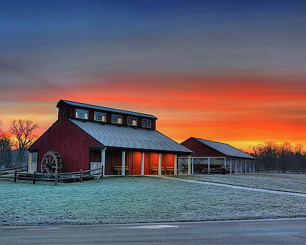 Millstream Sunrise by Jeff Burcher